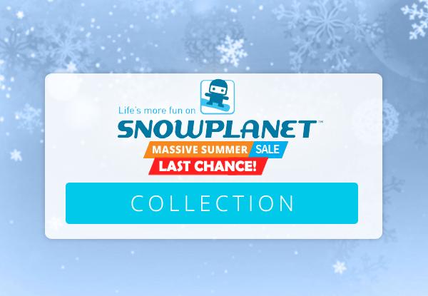 Snowplanet Massive Summer Sale