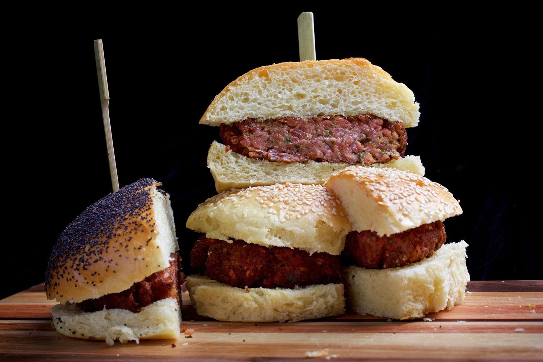 Meaty Veggie Burger Recipe Viva