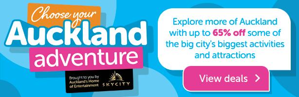 Choose Your Auckland Adventure - View Deals
