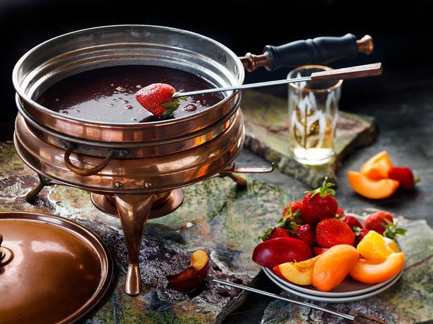 Chocolate Fondue Recipe Viva