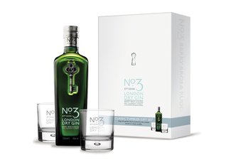 1x No.3 Dry Gin Gift Pack