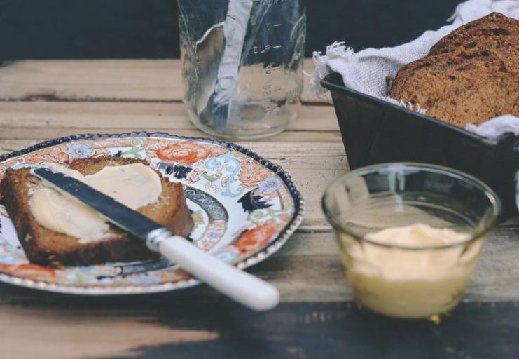 Petite Kitchen 39 S Lime And Coconut Yoghurt Bread Recipe Viva