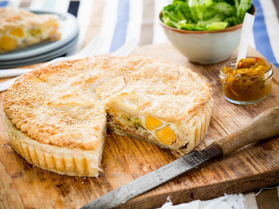 Cheesy bacon and egg pie recipe viva cheesy bacon and egg pie recipe forumfinder Image collections