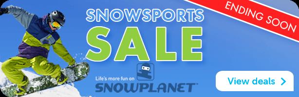 Snowplanet Sale