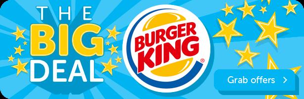 Burger King - Grab Offers