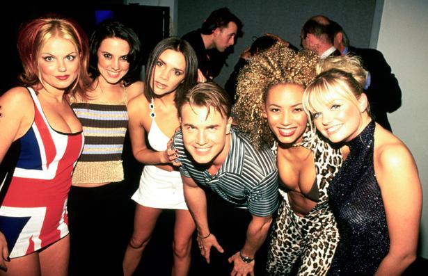 Spice Girls Reunion Vintage 90s Top Girl Power T Shirt White Summer Festival Tee