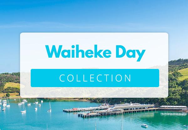 Experience the wonders of Waiheke