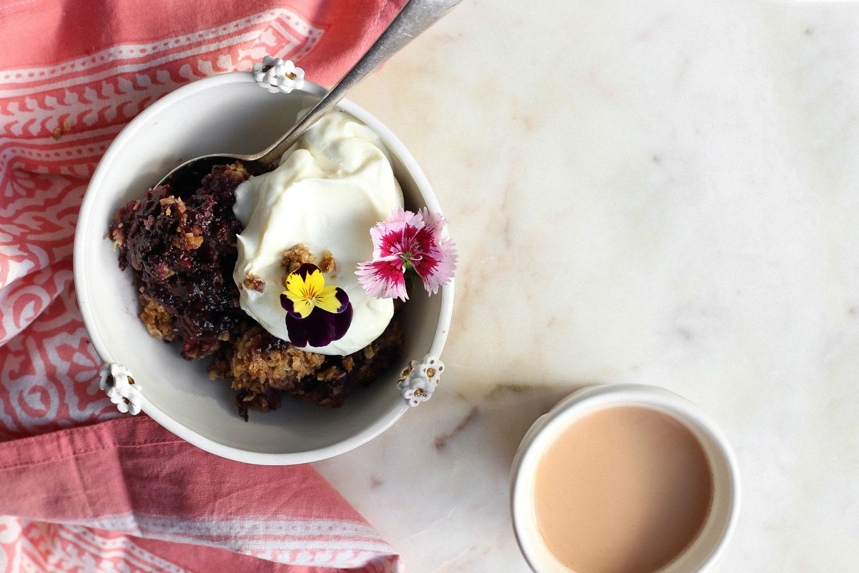 Earl Grey Tea and Brandy Poached Pears Recipe - Viva