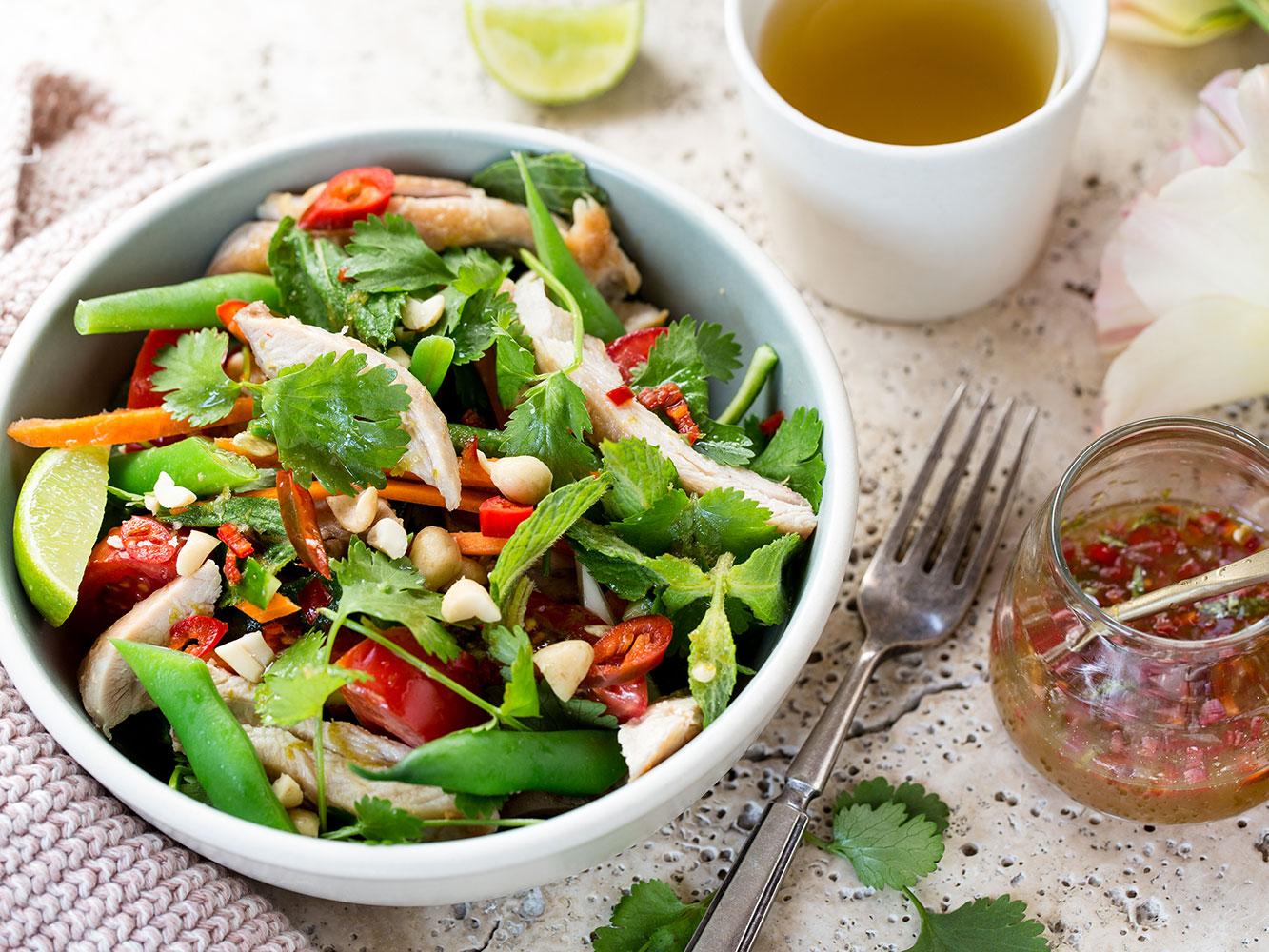 Vietnamese chicken salad recipe viva forumfinder Image collections
