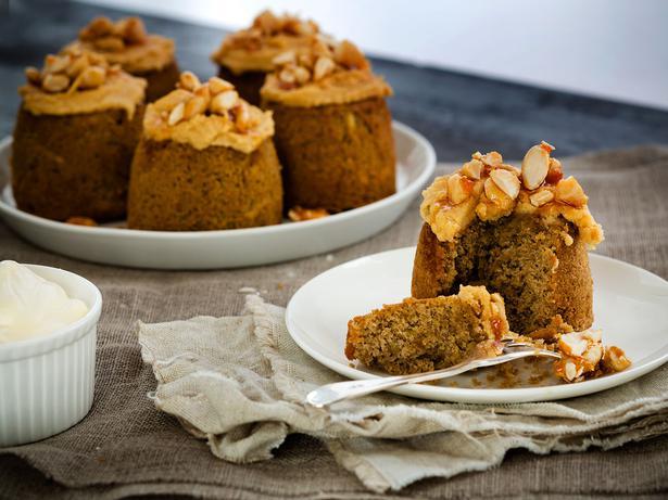 Korean Kumara Cake Recipe: Kumara Coffee Praline Cakes Recipe