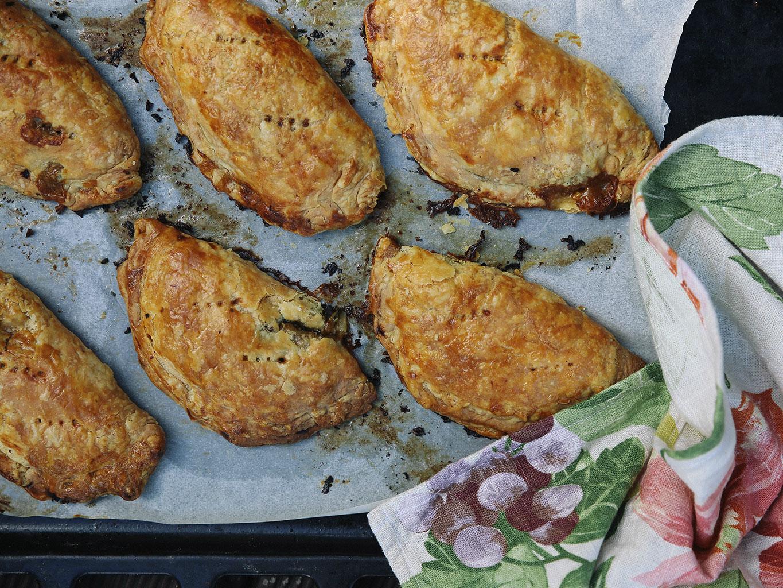 Cauliflower Pies Recipe with Sour Cream Pastry , Viva