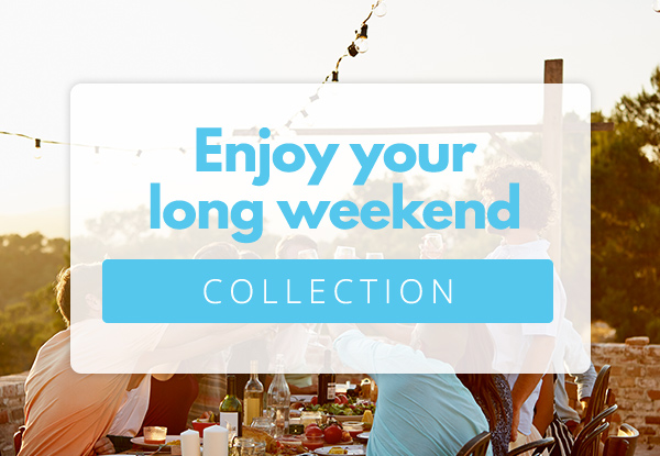 Enjoy the Weekend with Great Deals