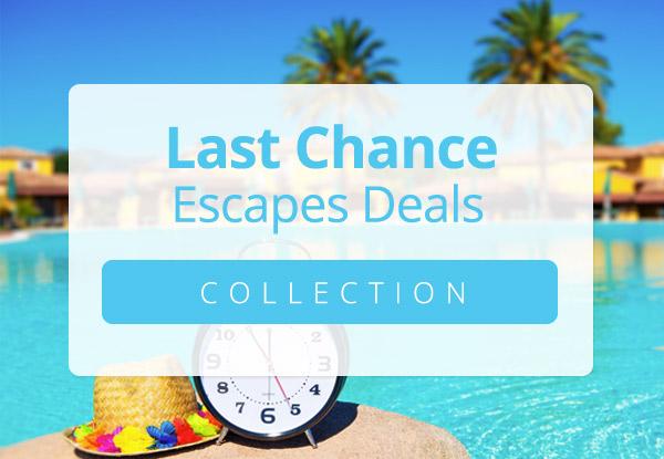 Escapes Closing Soon