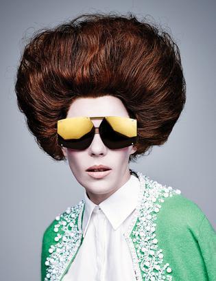 258bebf5df76 Karen Walker Models for New Eyewear Campaign - Viva