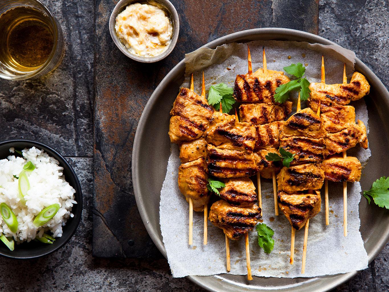 Marinade for chicken kebabs. Marinade recipes 94