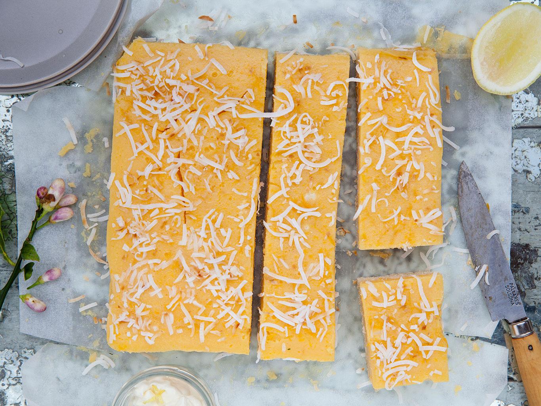 Gooey Lemon Crunch Recipe Viva